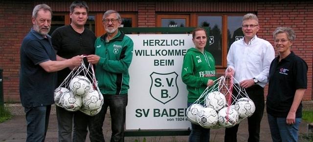 Blutspendemeisterschaft: Ball-Prämie für den SV Baden