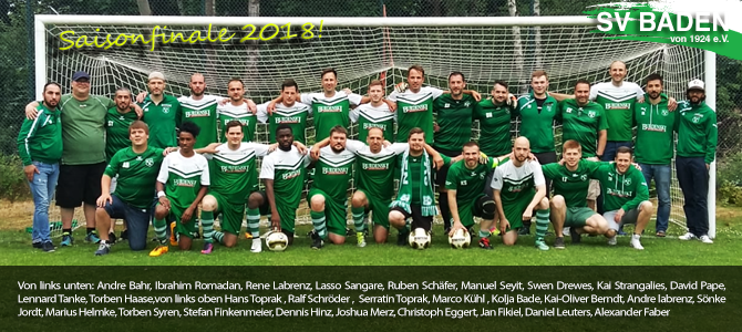 Saisonfinale der 2. Herrenmannschaft
