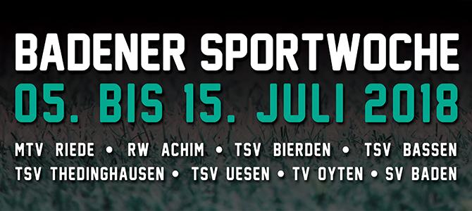 BaSpo 2018 -> Die Badener Sportwoche