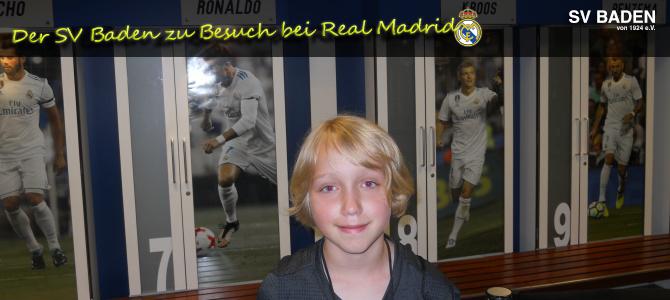Jonna-Marie Hambrock zu Besuch bei Real Madrid