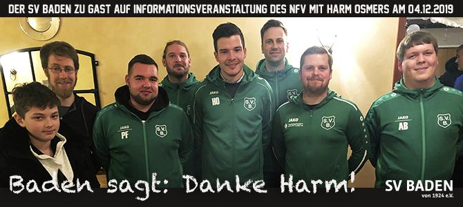 Harm Osmers begeistert Jugendliche für das Schiedsrichterwesen!