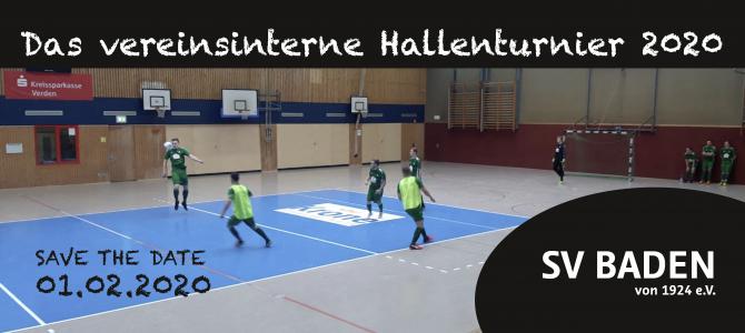 Vereinsinternes Hallenturnier 2020