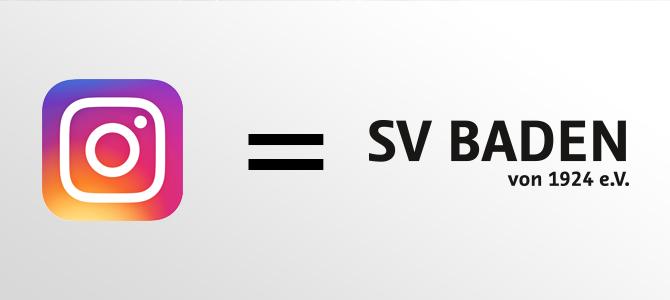 Der SV Baden auf Instagram!