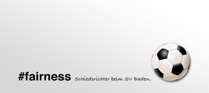 Schiedsrichter beim SV Baden