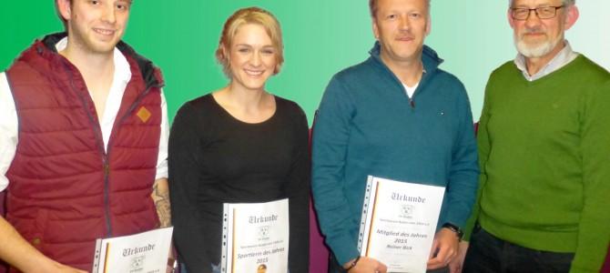 Robin Twietmeyer und Yvette Stephan geehrt!