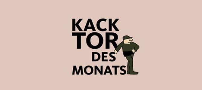 """Für """"Kacktor des Monats"""" nominiert"""